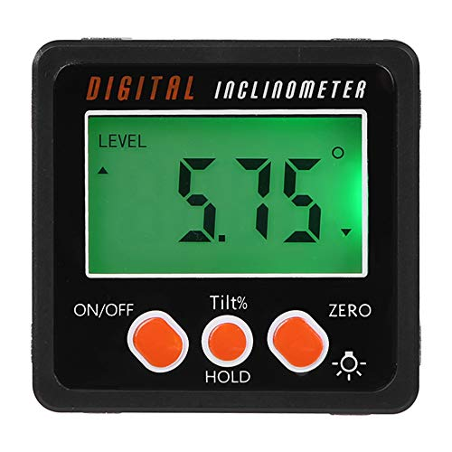 RETYLY Winkelmesser, Pr?zision Digital Winkelmesser Neigungsmesser Level Box, Digitaler Winkelsucher Bevel Box Mit Magnetfu?