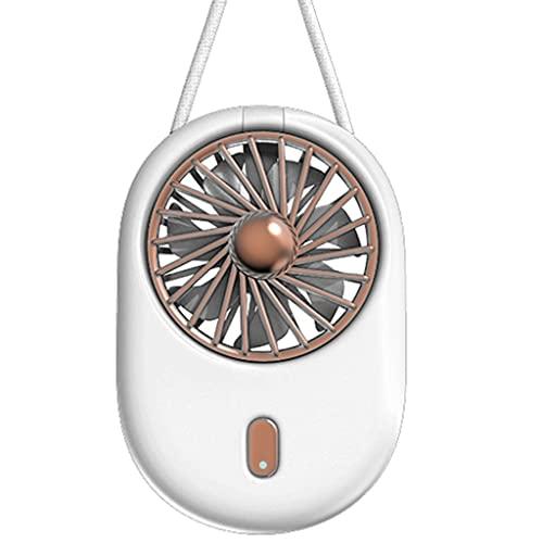 Ventiladores de sobremesa Ventilador Pequeño Portátil Plegable Para El Hogar Recargable Por...
