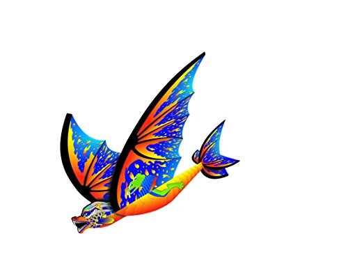 X-Kites FlexWing Dragon Glider, Cyan, 16 inches