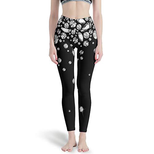 BOBONC dames theme yoga lange broek lichte ademende capri basketbal joggingbroek Skinny Leg