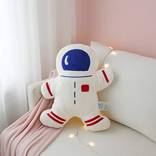 OLOEY Serie Espacial Astronauta Almohada sofá cojín Cohete muñeco de Peluche muñeca Astronauta 50 cm * 58 cm