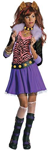 Rubie's-déguisement officiel - Monster High- Costume Déguisement Luxe Clawdeen Wolf - Taille L- I-884788L