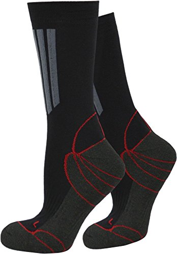 normani 6 Paar Socken mit X-Static® & Coolmax in Kurzschaft, Wellness oder Sport Farbe X-Static-Allro& Größe 39/42