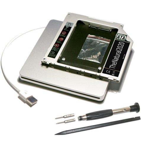 HDD/SSD SATA III Adapter Kit kompatibel mit Apple MacBook (Pro) 13