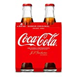 Coca-Cola - Regular, Botella de cristal, 4 x 200 ml