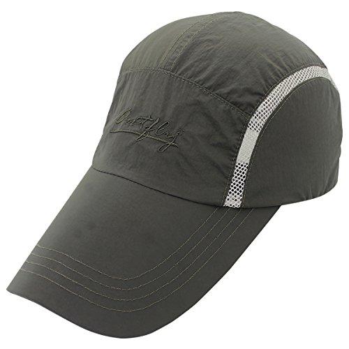 Outfly - Gorra de Sol para Hombre Mujer Verano con Malla Ajustable...