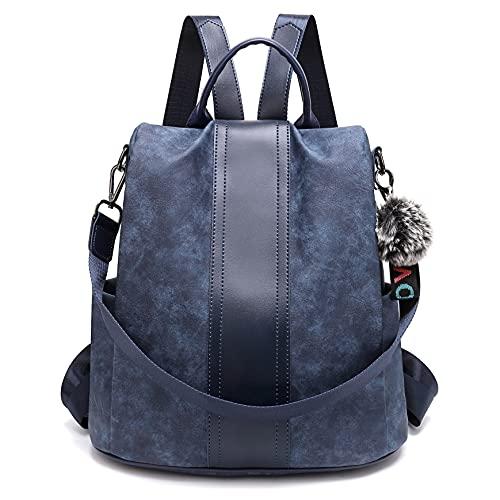 TcIFE zaino da donna impermeabile antifurto borsa da scuola scuola zaino da viaggio borsa a tracolla