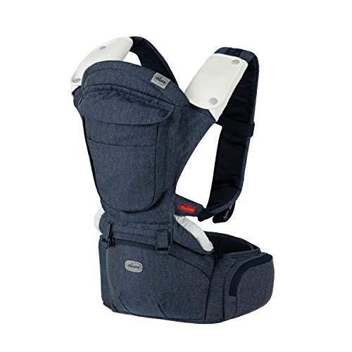Chicco Sidekick Plus 3-in-1 Hip Seat Carrier - Denim