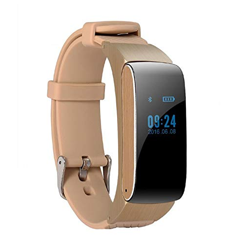 Huoqilin Smartwatch, voor gezondheid, bluetooth, oproepen, touchscreen, sport, hardlopen, stappenteller