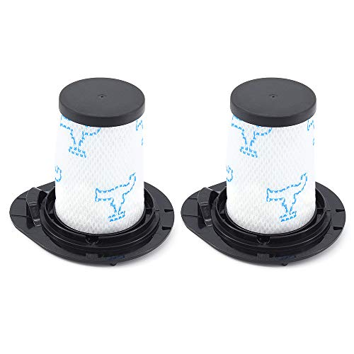 DingGreat 2Pcs Filtro de Repuesto para Rowenta Air Force All in One 460 RH92xx y Rowenta Air Force Flex 560 RH94xx Aspiradora (Alternativa a ZR009002)