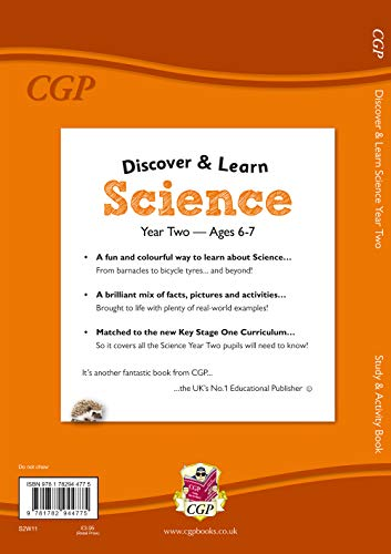 KS1 Discover & Learn: Science - Study & Activity Book, Year 2 (CGP KS1 Science)