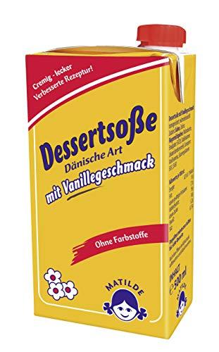 Dänische Vanille Soße, 500 ml