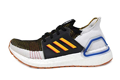 adidas Ultraboost 19 J (Grade School) in Black/Active Gold/Scarlet (Toy Story-Woody), 6