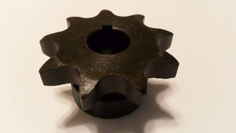 Finish Bore Sprocket #40 Roller Ranking TOP4 Chain Tooth Type New Free Shipping 40B09H-1 B 2