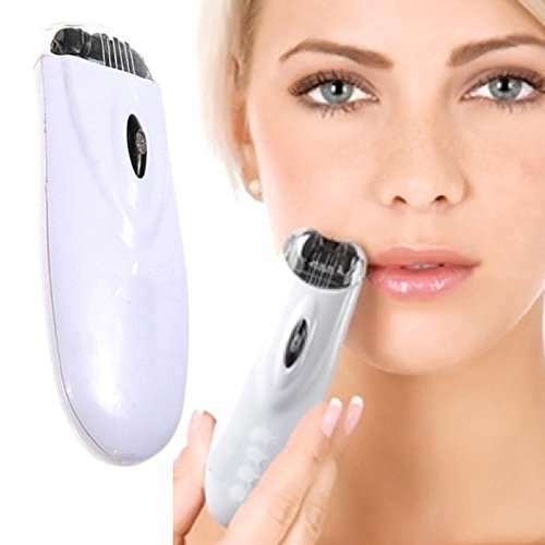 Gofypel Facial Hair Remover Electric Tweeze Epilator Automatic Trimmer for Women Rechargeable Shaver Face Hair Removal Cordless