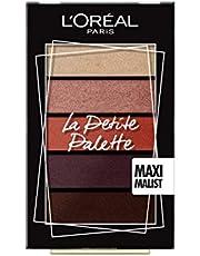 L'Oréal Paris La Petite Palette Paleta 5 cieni do oczu odświeża spojrzenie dzięki harmonijnym kolorom, 01 Maximalist, 5 x 0,80 g
