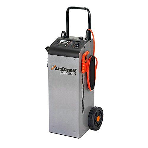 UNICRAFT MBC 550 S Batterieladegerät Startgerät multifunktional mit Fahrwerk