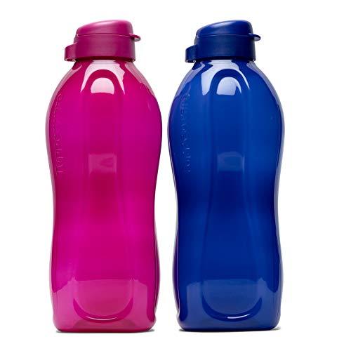 Tupperware Aquasafe - Juego de 2 botellas (2 litros cada uno)