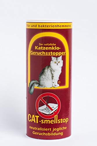 Smellstop® Geruchsstopper | Streuzusatz für Katzentoiletten und Kleintiergehege | Sparsame Anwendung | geruchlos | 200g (reicht für 4-5 Wochen)