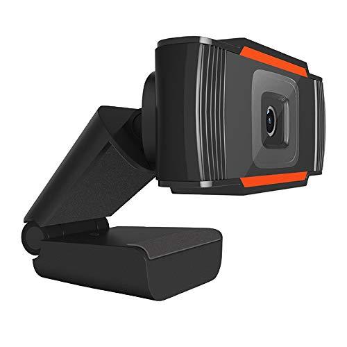 Webcam per PC con Microfono HD Network Camera USB Plug and Play per PC Laptop Desktop Videochiamate, Conferenze