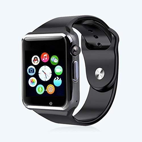Update Bonn | Smartwatch A1 | Bluetooth 3.0 con touch screen da 1,54 pollici GSM slot scheda SIM 3.0 MP fotocamera per Android Samsung S5 S6 Note 4 Note 5 HTC Sony LG Smartphone ...