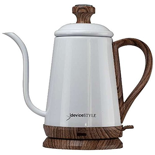 deviceSTYLE Goose Neck Type Electric Kettle KA-800C【Japan Domestic genuine products】
