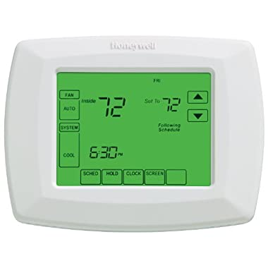 Honeywell RTH8500D 7-Day Touchscreen Programmable Thermostat,  C  Wire Required