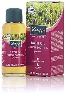 Kneipp Juniper Herbal Bath Oil, Muscle Smoothing, 3.38 fl. oz.