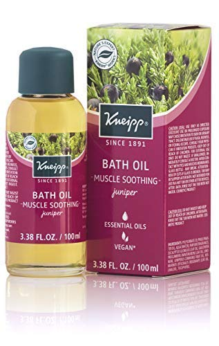 kneipp juniper herbal bath oil