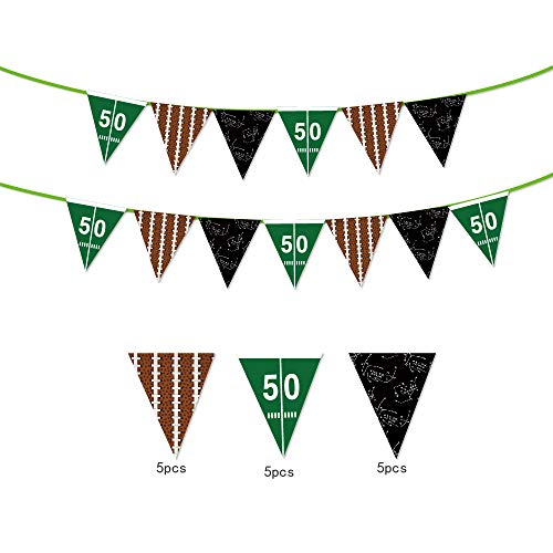 Football Banner,Game Day Banner,Taigate Banner,Football Party,Sports Day Party,Football Decoration for Picnic,Home Parties,Wedding,Celebration and Festivals