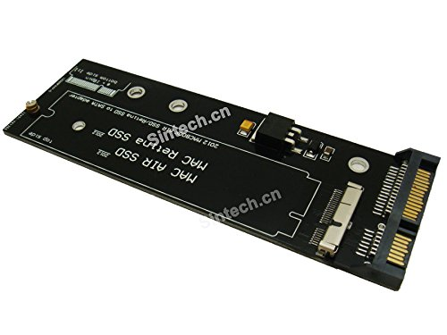 Sinech 7+17Pin to SATA Adapter Card,Compatible with SSD from 2012 Year MacBook Air/PRO Retina
