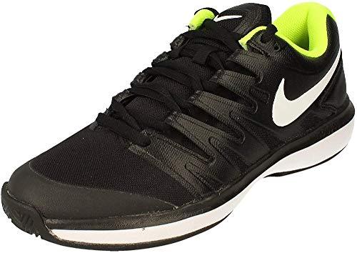 Nike Air Zoom Prestige Cly, Zapatillas de Tenis Hombre, Negro (Black/White-Volt 007),...