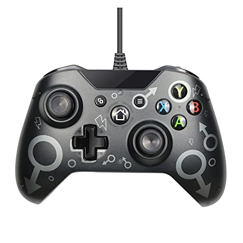 Controladores Controlador de cable USB Joysticks para Xbox One S Video Game...