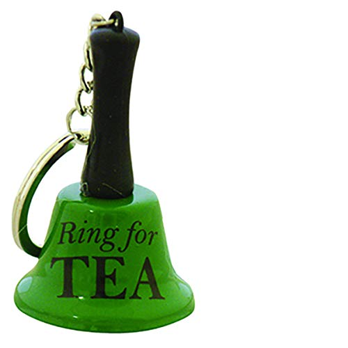 Diabolical Gifts DP0803 Mini Ring for Tea Keyring, Green and Black