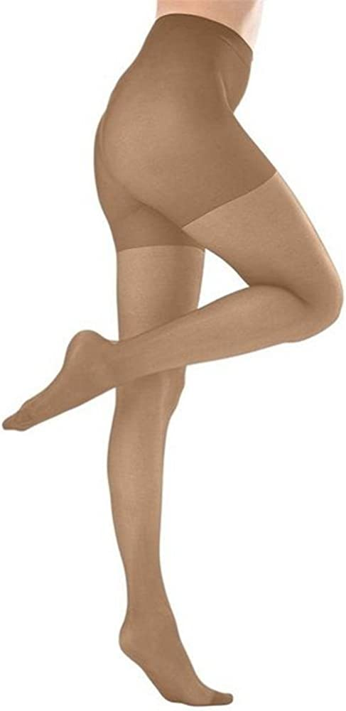 Butterfly Hosiery Womens Plus Size Queen Mild Compression Microfiber Pantyhose