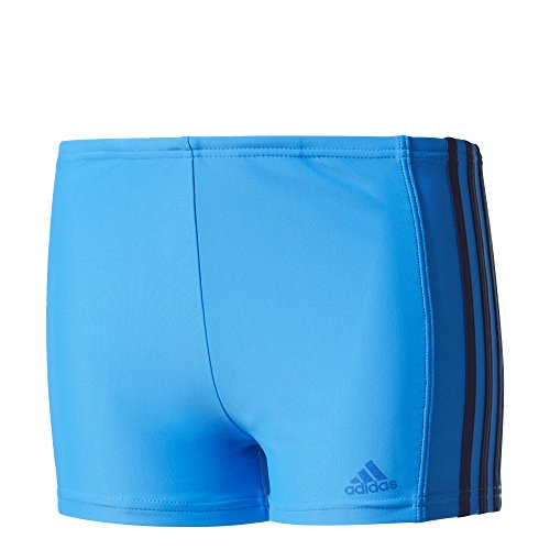 adidas Short de Bain/Boxer avec 3 Bandes en matériau Infinitex pour garçon, Garçon, Infinitex 3-Streifen Boxer, Bright Blue/Mystery Blue