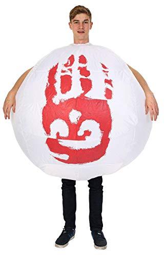 ORION COSTUMES Costume Adulte gonflable ballon Seul au monde