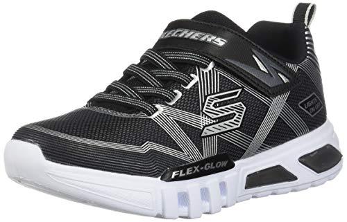 Skechers Zapatillas SLIGHTS Flex-Glow para Niños Negro 27 EU