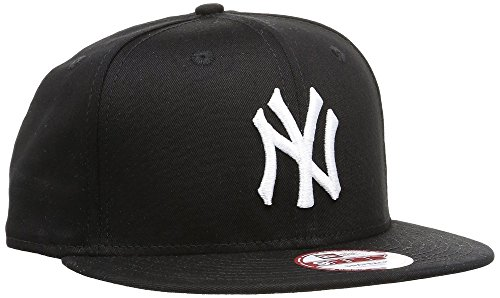 New Era Unisex Cap MLB 9fifty NY Yankees, Schwarz/Weiß, M/L, 11180833