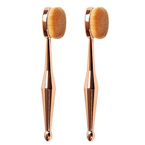 Non toxique durable réutilisable cheveux doux Facile à utiliser Maquillage Pinceau Forme de Brosse À Dents La Crème de Forme en Forme de Verre Pinceau en Forme de Gouttelettes en Forme de Poudre Puff