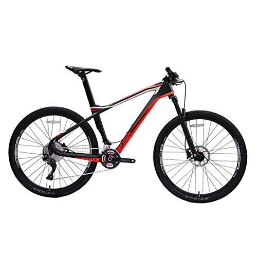 MICAKO Bicicleta Montaña 27.5'', Shimano M7000-22 Velocidad, Freno de Disco de Aceite Shimano, Full Suspension, Fibra de Carbon