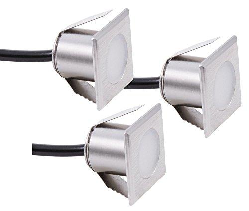 Heitronic 30397 lampe de plafond, A + +, mélangé, Argent