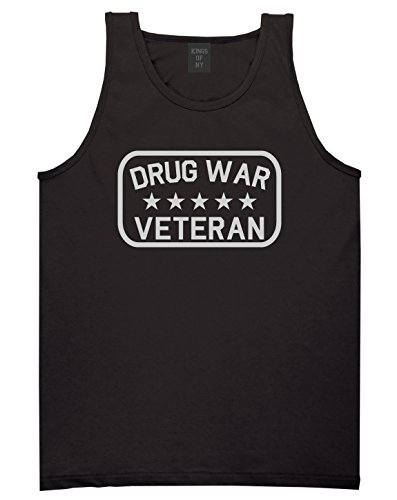 Kings Of NY Drug War Veteran Mens Tank Top Shirt XX-Large Black