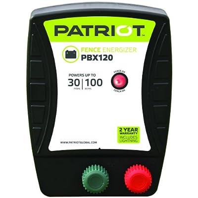 Patriot PBX120 Battery Fence Energizer, 1.2 Joule