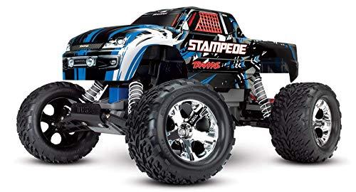 Traxxas Stampede blau-X RTR +12V-Lader+Akku