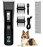 <span class='highlight'><span class='highlight'>GOFUN</span></span> Pet Grooming Clippers, Professional Dog Clippers Cat Grooming Clippers for Thick Hair Dogs, Cats and Horses