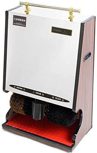 YWAWJ Totalmente automático betún vestíbulo del Hotel hogar del Cuero del betún de Calzado eléctrico Multifuncional Cepillo (Color : C)