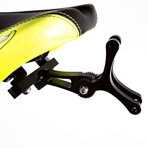 VeloChampion Fahrrad Doppel Flaschenkäfig - Ideal für Triathlon - Nur Käfig Rahmen
