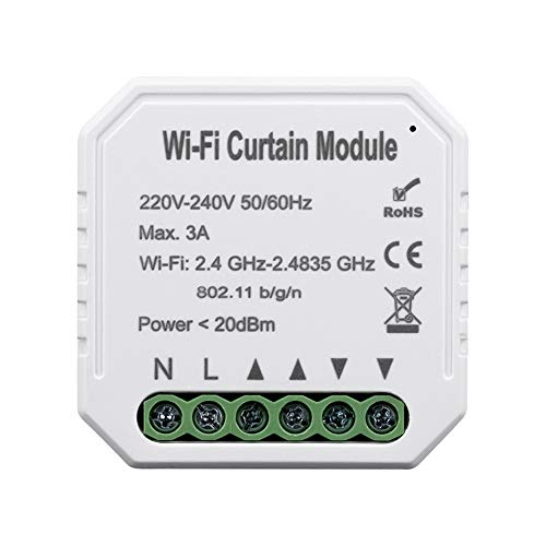 KKmoon Smart WiFi Switch Conmutador de red Módulo de interruptor de cortina...