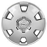 Opel Recambios Originales GM 1 x Tapacubo Plata Cromado 16 Pulgadas Astra H Zafira B 13209732, 6006086